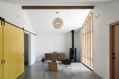 Rekonstruoto namo apdailos darbai