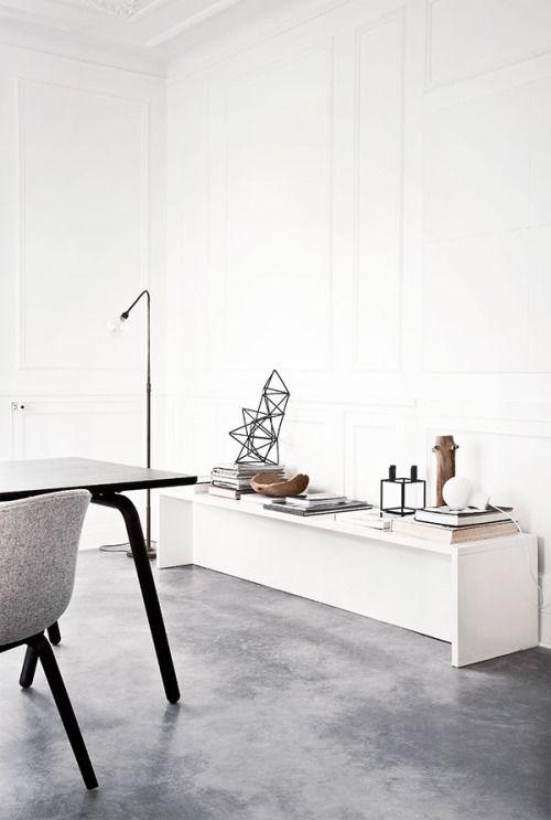 betoninės grindys šaltinis Norm Architects